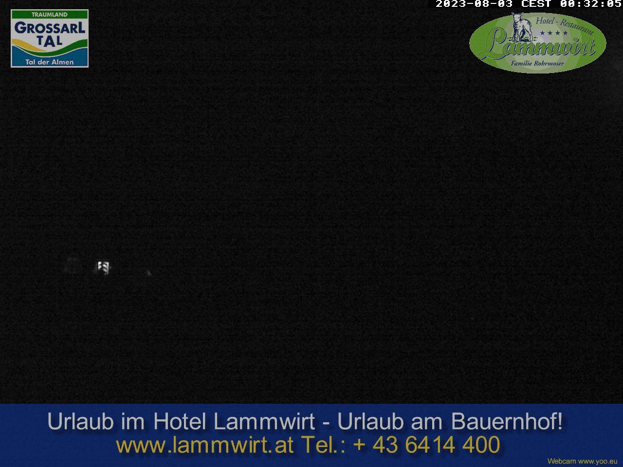 WEBkamera Grossarl - Ellmautal, hotel Lammwirt